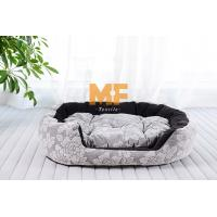 Wholesale Beautiful Cotton Fabric Pets Dog Bed / Dog Cushion Colorful Customized Size from china suppliers