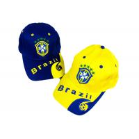 Wholesale Dortmound Black Yellow Soccer Caps Fans Sports Football Cap Embroidered Logo from china suppliers