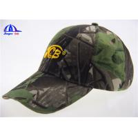 Wholesale Cotton Camo LED Baseball Cap with 4 White Led lights in Front , Embroidery Logo from china suppliers
