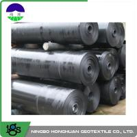 Wholesale 2.50mm Ultra Tech Flexible HDPE Geomembrane Liner Smooth For Canal from china suppliers
