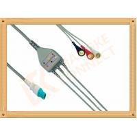 Wholesale OEM Siemens Draeger ECG Patient Cable 10 Pin One Piece 3 Leads from china suppliers