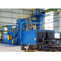 Wholesale Coil / Steel Automatic Shot Blasting Machines With Roller Conveyor System from china suppliers