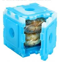 Buy cheap New Food Grade HDPE Plastic Cool Cooler Small Ice Pack Set Of 6 For Kids Lunch from wholesalers