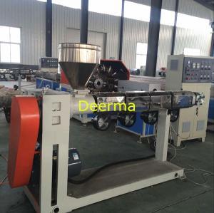 Quality PVC Braided Hose Pipe Plastic Extrusion Machine Fiber Hose Production Line for sale