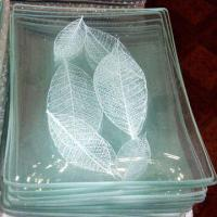 Wholesale Square Fruit Plate in 15 x 25, 20 x 30 and 25 x 35cm Sizes, Made of Toughened Glass from china suppliers