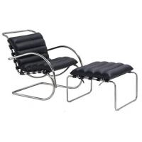 Wholesale leather sofa, leather lounge chair and ottoman, metal chair, #3023 from china suppliers