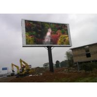 Wholesale HD SMD Advertising LED Signs , Clear p10 outdoor led display full color from china suppliers