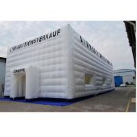 Wholesale White 10m x 10m Advertising Inflatable Tent , Outdoor Inflatable Cube Tent from china suppliers