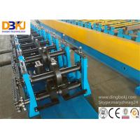 Wholesale Rack Beam C Channel Roll Forming Machine 8-12m / Min Metal Forming Equipment from china suppliers