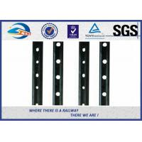 Wholesale 45# Steel 6 Hole Railway Fish Plate Rail Splice Bar With Color Painting from china suppliers