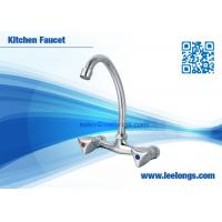 Wholesale Modern Two Handle Pull Down Kitchen Faucets , Vessel Sink Faucets from china suppliers