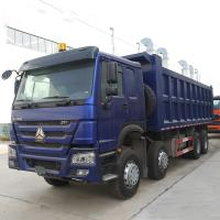 Wholesale Big SINOTRUK HOWO 371 8x4 Heavy Duty Dump Truck With 12 Wheel For 20 Cubic Meter from china suppliers