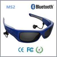 Wholesale Blue Frame HD 720P Smart Video Glasses Bluetooth For Security , Sport , Driver from china suppliers