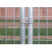 Wholesale Commercial Construction Temporary Mesh Fencing , Galvanized Welded Wire Fence from china suppliers
