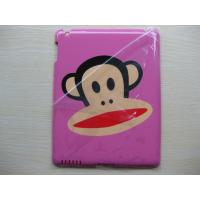 Quality Popular cute cartoon design Monkey pink protective iPad2 hard case covers for sale