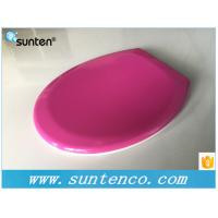 Quality Xiamen Oval Soft Close Universal Round WC Purple Toilet Seat Covers for sale