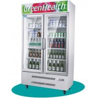 Wholesale Cold Chian Glass Door Freezer Display Cabinet Electronic thermostat control from china suppliers