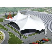 Quality WaterProof Tensile Structure Architecture Outdoor Stage Canopy Knock Down Type for sale
