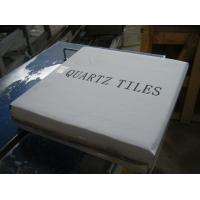 Wholesale Customized Pure White Quartz Stone Slab Vanity Top for washing room from china suppliers