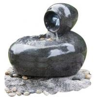 Wholesale Fiberglass Outdoor Sphere Water Fountains With Pots / Water Sphere Fountain from china suppliers