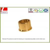 Wholesale Custom high precision Brass shaft used in medical equipment , CNC lathe turning parts from china suppliers