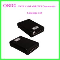 Wholesale FVDI AVDI ABRITES Commander Language List from china suppliers