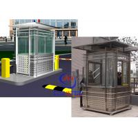 Wholesale Prefabricated Safety Guard Kiosk , Sentry Garden Shed Ce Approved from china suppliers