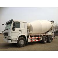 Wholesale SINOTRUK HOWO 6x4 concrete mixer truck, red, 299hp, 336hp, 371hp, 380hp from china suppliers