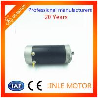 Quality 1.2KW 12V 24V 48V Permanent Magnetic DC Motor OD 80mm 3000RPM for sale