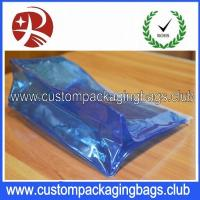 Quality Wholesale Low MOQ Waterproof Transparent PVC Custom Packaging Bag With Zipper for sale