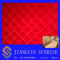 Wholesale PVC Auto Upholstery Leather / Custom Leather Upholstery Fabric for Sofa from china suppliers