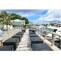 Wholesale Floating pontoons floating docks with  Aluminum frame Floating Docks from china suppliers