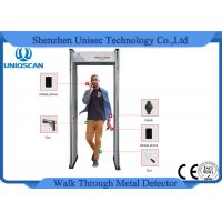 Wholesale 6 Zones LED Screen Portable Metal Detector Archway , Walk Through Security Scanners from china suppliers
