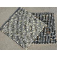 Wholesale Multicolor Slate Mosaic,Natural Stone Mosaic Pattern,Rusty Slate Mosaic Wall Tiles,Interior Stone Mosaic from china suppliers
