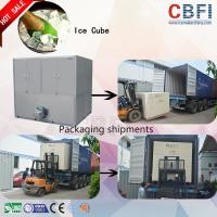 Wholesale Commercial Original CBFI Cube Ice Machine from Machine Inventor for Africa Countries Suitable for Hot Weather Area from china suppliers