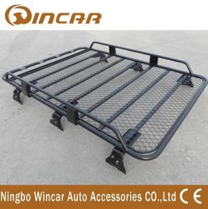 Quality Removable Half Frame Luggage Rack For Suv , Roof Rack Carrier Gutter Mount for sale