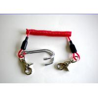 Wholesale 3.0mm Diving Stainless Steel Reef Coiled Lanyard Double Hook Spiral from china suppliers