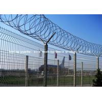 Quality Y Post Welded Airport Security Fencing Square Hole Shape Low Carbon Iron Wire for sale