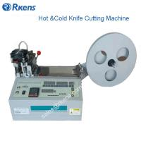 Wholesale RS-990 Hot/Cold Knife Cutting Nylon/Polyester/Elastic/Velcro Machine from china suppliers