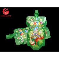 Wholesale PET / PE Stand Up Pouch With Spout / Food Grade Spout Pouch for Juice from china suppliers