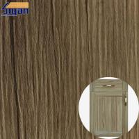 Wholesale Decorative High Glossy PVC Furniture Film Wood Grain / Metallic Color from china suppliers