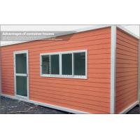 Wholesale Europe Type Portable Container Modular House for Accommodation or Temporary Office from china suppliers