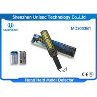 Wholesale Uniqscan Portable Hand Held Metal Detector MD3003B1 With ABS Housing Material from china suppliers