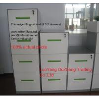Wholesale Vertical filing cabinet steel material 4 drawer,A4/F4 Files available,white/light grey/black color/ KD structure from china suppliers