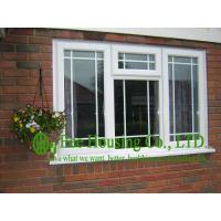 Wholesale Upvc Fixed Windows With Grilled For Villas, Double glazing Upvc windows from China factory from china suppliers