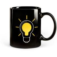 Quality the change colors mug the lamp bulb magic cup for sale