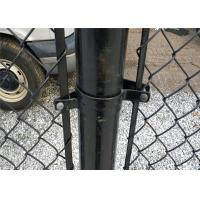 Wholesale 2.5mm/1.5mm 50X50mm PVC Coated Chain Link Fence Wire Mesh Fence from china suppliers