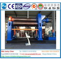 Buy cheap Hydraulic CNC Plate Bending Machine /4 Roll Plate Rolling Machine with CE Standard from wholesalers