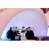 Quality Hot White Tent Inflatable Pod with Lights for Exhibition and Conference Communications for sale