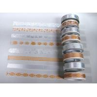 GOLD SILVER FOIL WASHI PAPER TAPE
